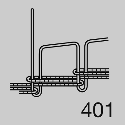 401 Double Chainstitch